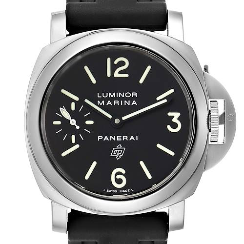 Photo of Panerai Luminor Marina Logo 44mm Watch PAM00005 Box Papers