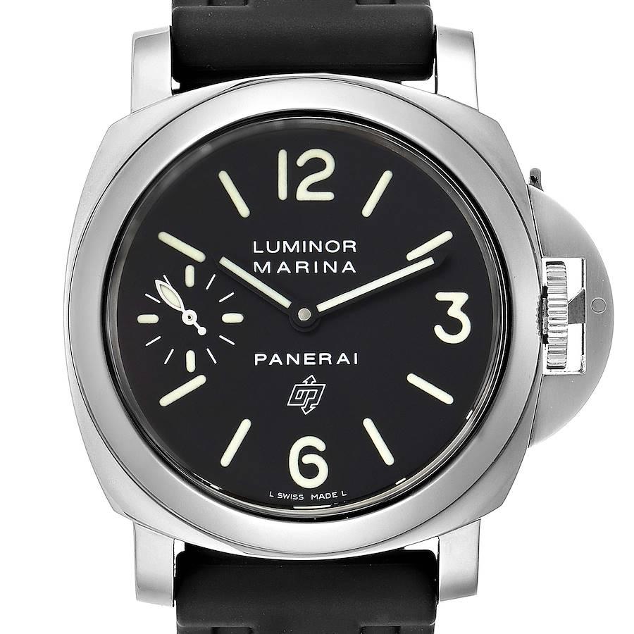 Panerai Luminor Marina Logo 44mm Watch PAM00005 Box Papers SwissWatchExpo