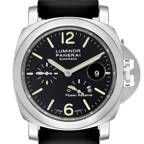 Photo of Panerai Luminor Power Reserve Automatic Mens Watch PAM00090 Box Papers