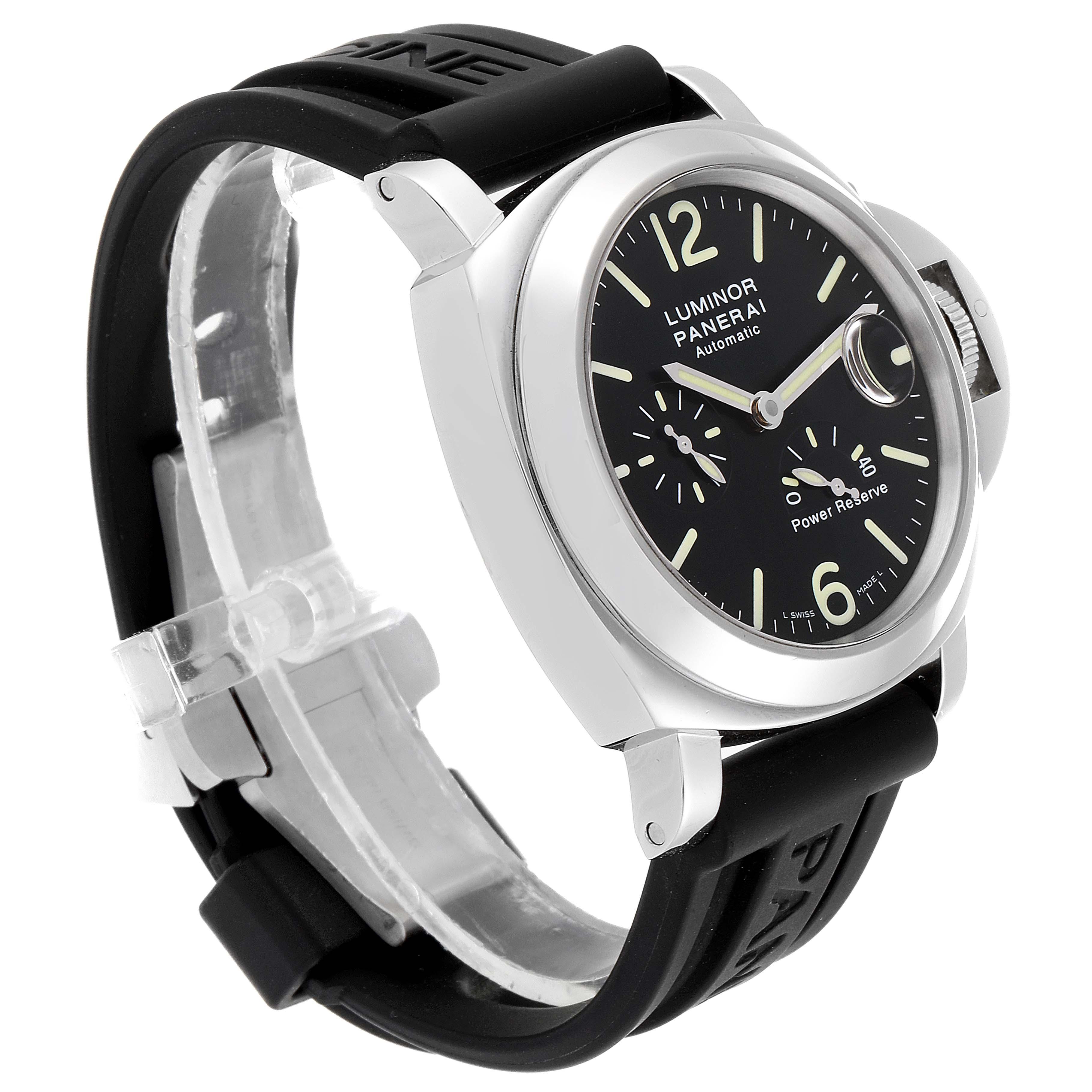 Panerai Luminor Power Reserve Automatic Mens Watch PAM00090 Box Papers SwissWatchExpo