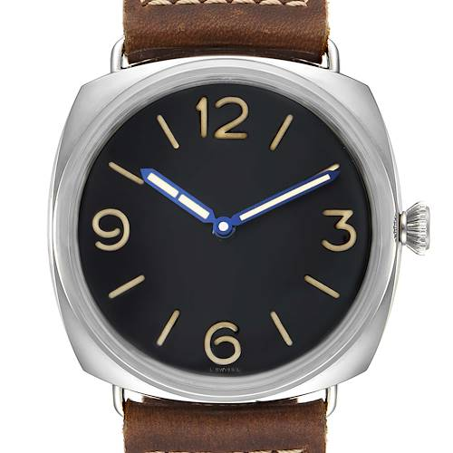 Panerai Radiomir 47mm 3 Days Steel Mens Watch PAM00721 Box Papers