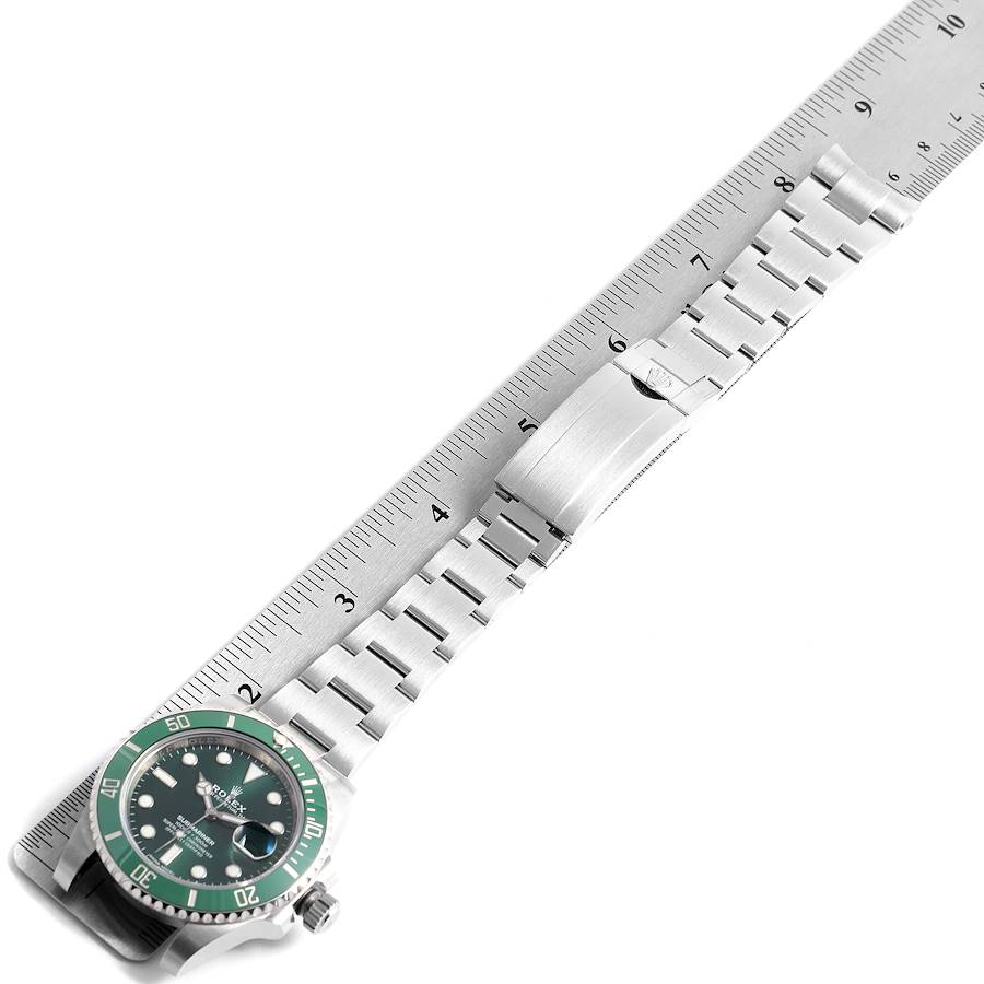 Rolex Submariner Hulk Green Dial Bezel Mens Watch 116610LV Box Card SwissWatchExpo