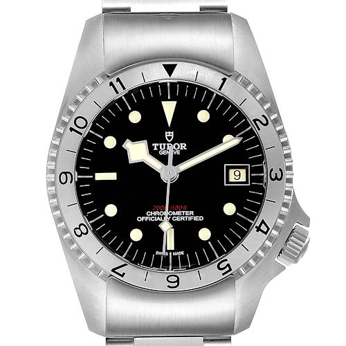 Tudor Heritage Black Bay Steel Mens Watch 70150 Card