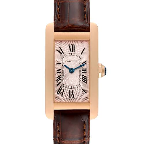 Photo of Cartier Tank Americaine Rose Gold Small Ladies Watch 2597