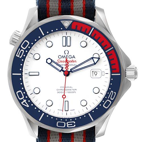 Photo of Omega Seamaster James Bond Co-Axial Watch 212.32.41.20.04.001 Unworn