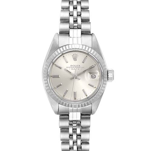 Photo of Rolex Datejust Steel White Gold Jubilee Bracelet Ladies Watch 6917