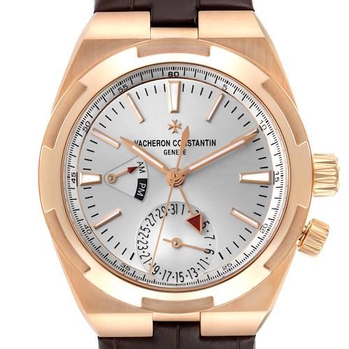 Photo of Vacheron Constantin Overseas Dual Time Rose Gold Mens Watch 7900V Unworn