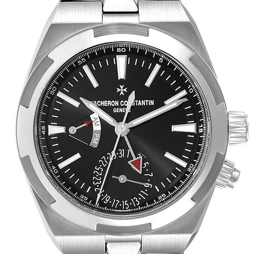 Photo of Vacheron Constantin Overseas Dual Time Steel Mens Watch 7900V Unworn