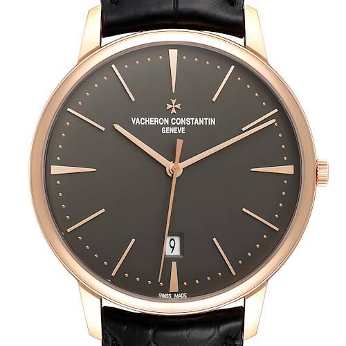 Photo of Vacheron Constantin Patrimony 40mm Rose Gold Mens Watch 85180 Unworn