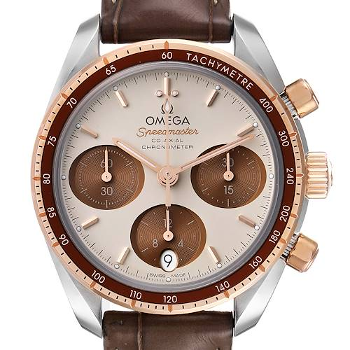 Photo of Omega Speedmaster 38 Co-Axial Chronograph Watch 324.23.38.50.02.002 Box Card