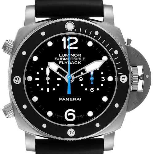 Photo of Panerai Luminor Submersible 3 Days Chrono Flyback Mens Watch PAM00615 Unworn