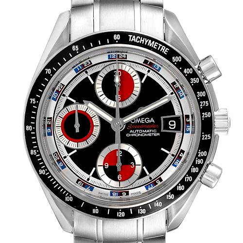 Photo of Omega Speedmaster Casino Dial Steel Mens Watch 3210.52.00 Card