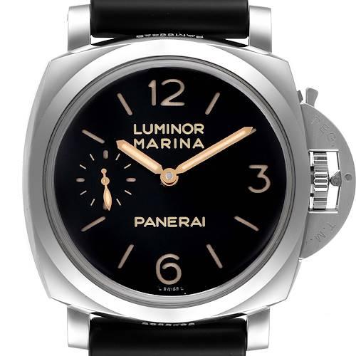 Photo of Panerai Luminor 1950 Acciaio 3 Days Power Reserve Watch PAM00422 Box Papers