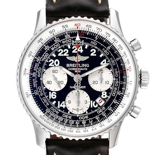 Photo of Breitling Navitimer Cosmonaute 02 Limited Edition Mens Watch AB0210 Box Card