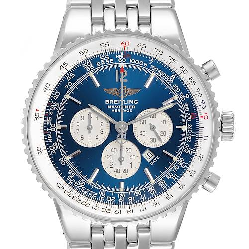 Photo of Breitling Navitimer Heritage Blue Dial Automatic Mens Watch A35340
