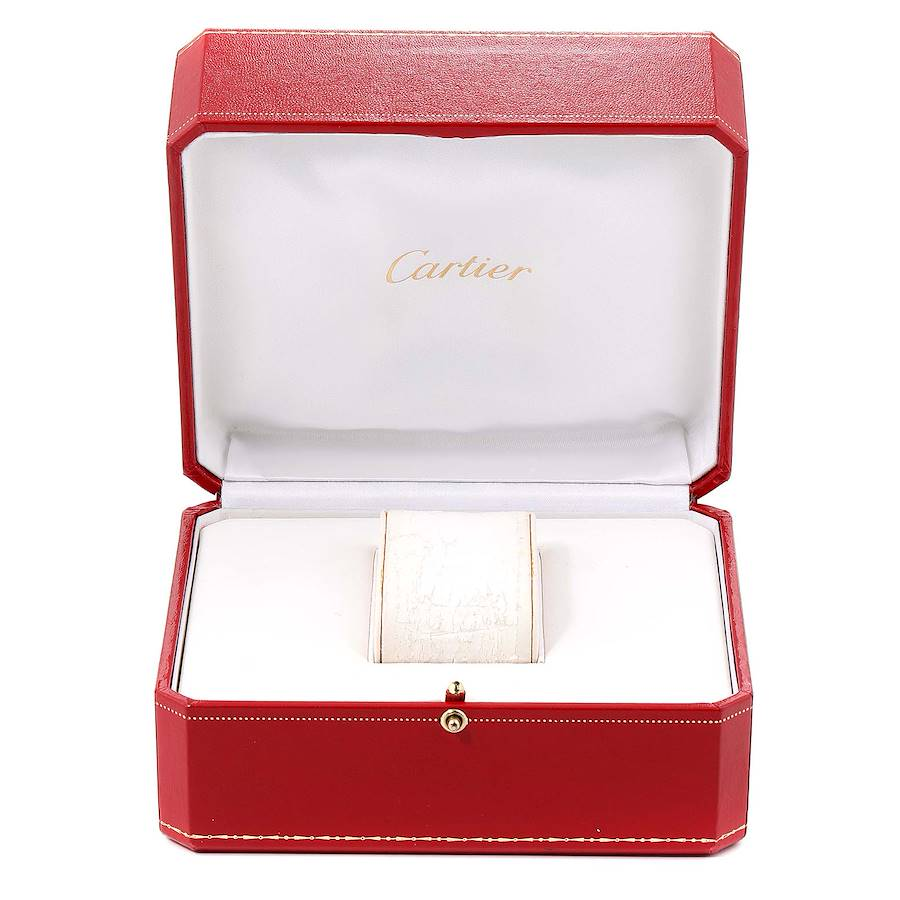 Cartier Panthere VLC 18K Yellow Gold Silver Dial Ladies Watch 8057921 SwissWatchExpo