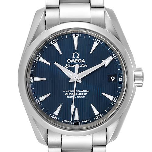 Omega Seamaster Aqua Terra Blue Dial Watch 231.10.39.21.03.002 Card
