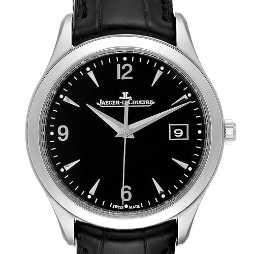 Photo of Jaeger Lecoultre Master Control Black Dial Mens Watch 176.8.40.S Q1548470
