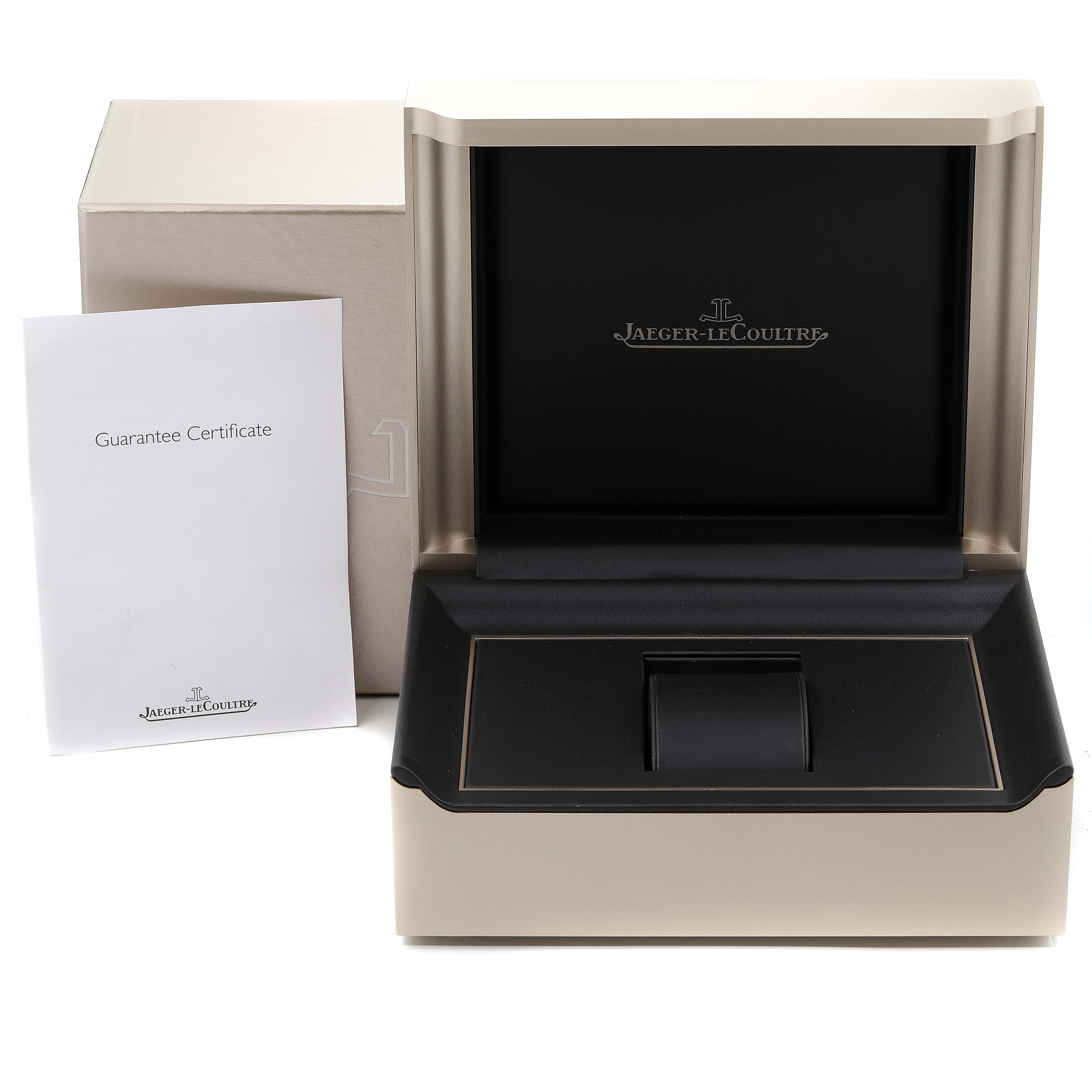 Jaeger LeCoultre Reverso Duo Tribute Watch 213.8.D4 Q3908420 Box Papers SwissWatchExpo