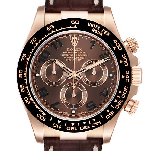 Photo of Rolex Cosmograph Daytona Rose Gold Everose Mens Watch 116515 Box