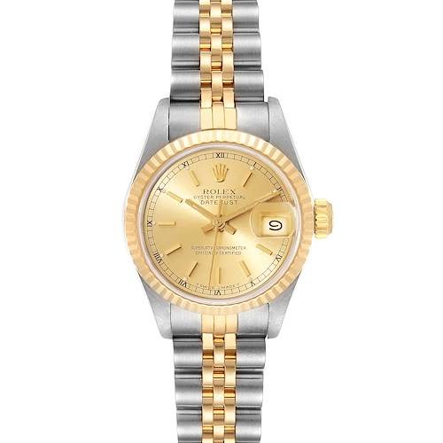 Photo of Rolex Datejust Steel Yellow Gold Ladies Watch 69173 Box
