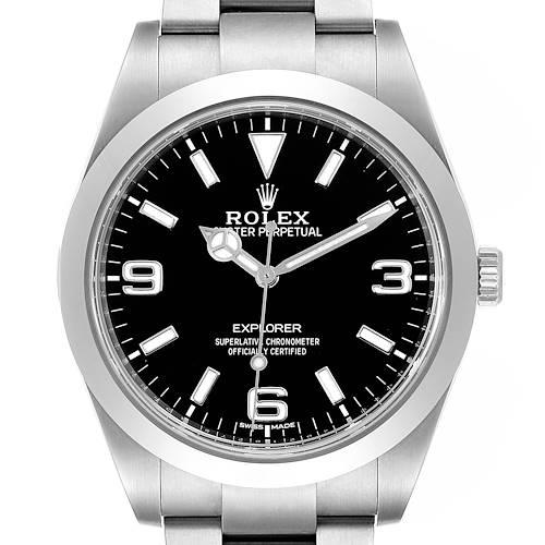 Photo of Rolex Explorer I 39mm Automatic Steel Mens Watch 214270 Unworn