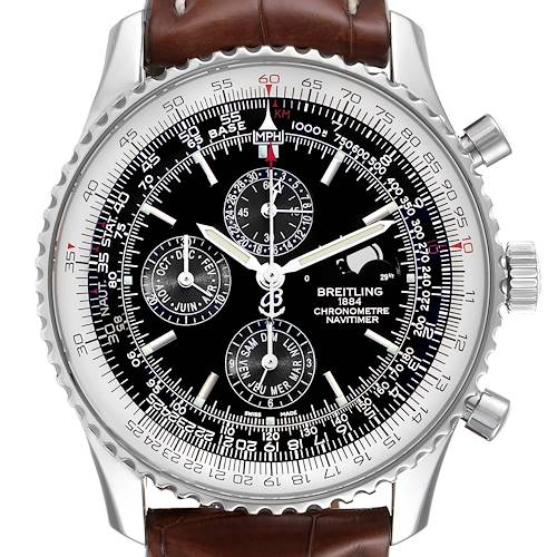 Photo of Breitling Navitimer 1461 Chrono Moonphase Limited Edition Mens Watch A19370
