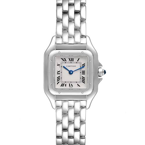 Photo of Cartier Panthere 18k White Gold Silver Dial Ladies Watch W25016F3