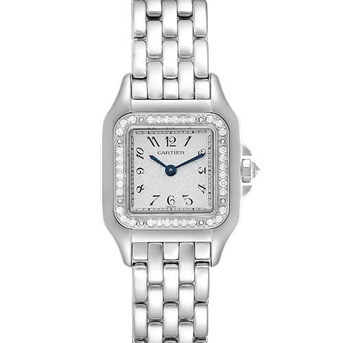 Photo of Cartier Panthere Ladies 18k White Gold Diamond Watch WF3091F3
