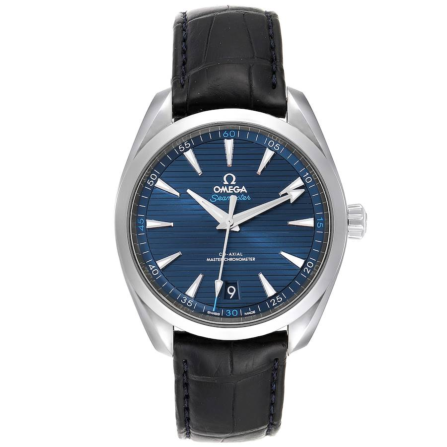 Omega Seamaster Aqua Terra Blue Dial Watch 220.13.41.21.03.001 SwissWatchExpo