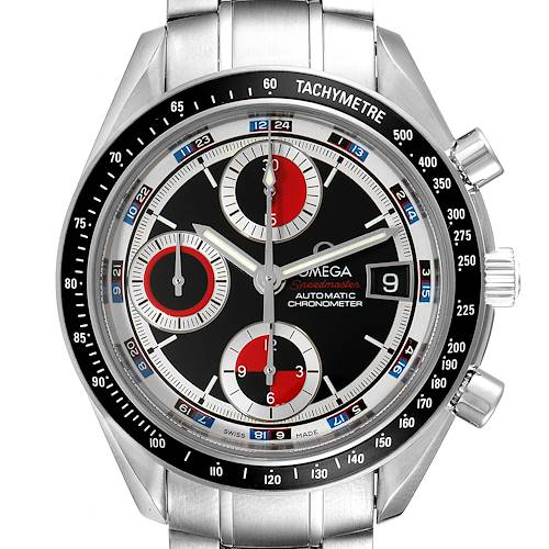 Photo of Omega Speedmaster Casino Dial Stainless Steel Mens Watch 3210.52.00