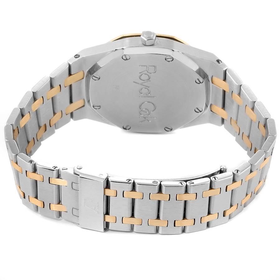 Audemars Piguet Royal Oak Steel Yellow Gold Automatic Watch SA14486 Papers SwissWatchExpo
