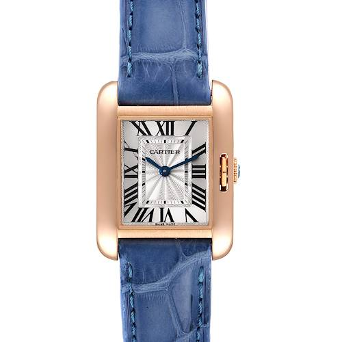Photo of Cartier Tank Anglaise 18K Rose Gold Small Ladies Watch W5310027