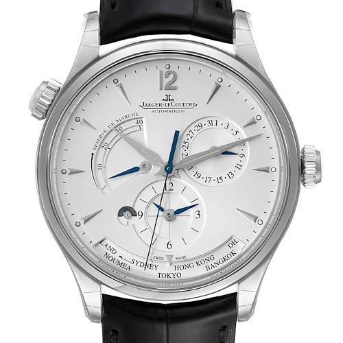 Photo of Jaeger Lecoultre Master Geographic Mens Watch 176.8.29.S Q1428421 Unworn