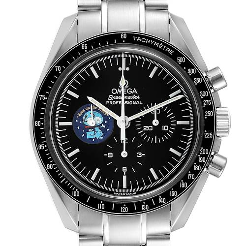Photo of Omega Speedmaster Professional Snoopy MoonWatch 3578.51.00 Box Card