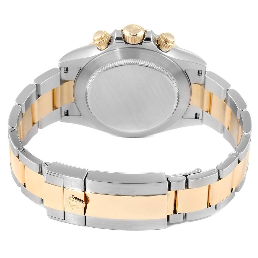 Rolex Daytona Panda Dial Steel Yellow Gold Mens Watch 116523 Box SwissWatchExpo