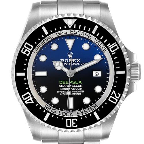 Photo of Rolex Seadweller Deepsea 44 Cameron D-Blue Dial Mens Watch 126660 Unworn