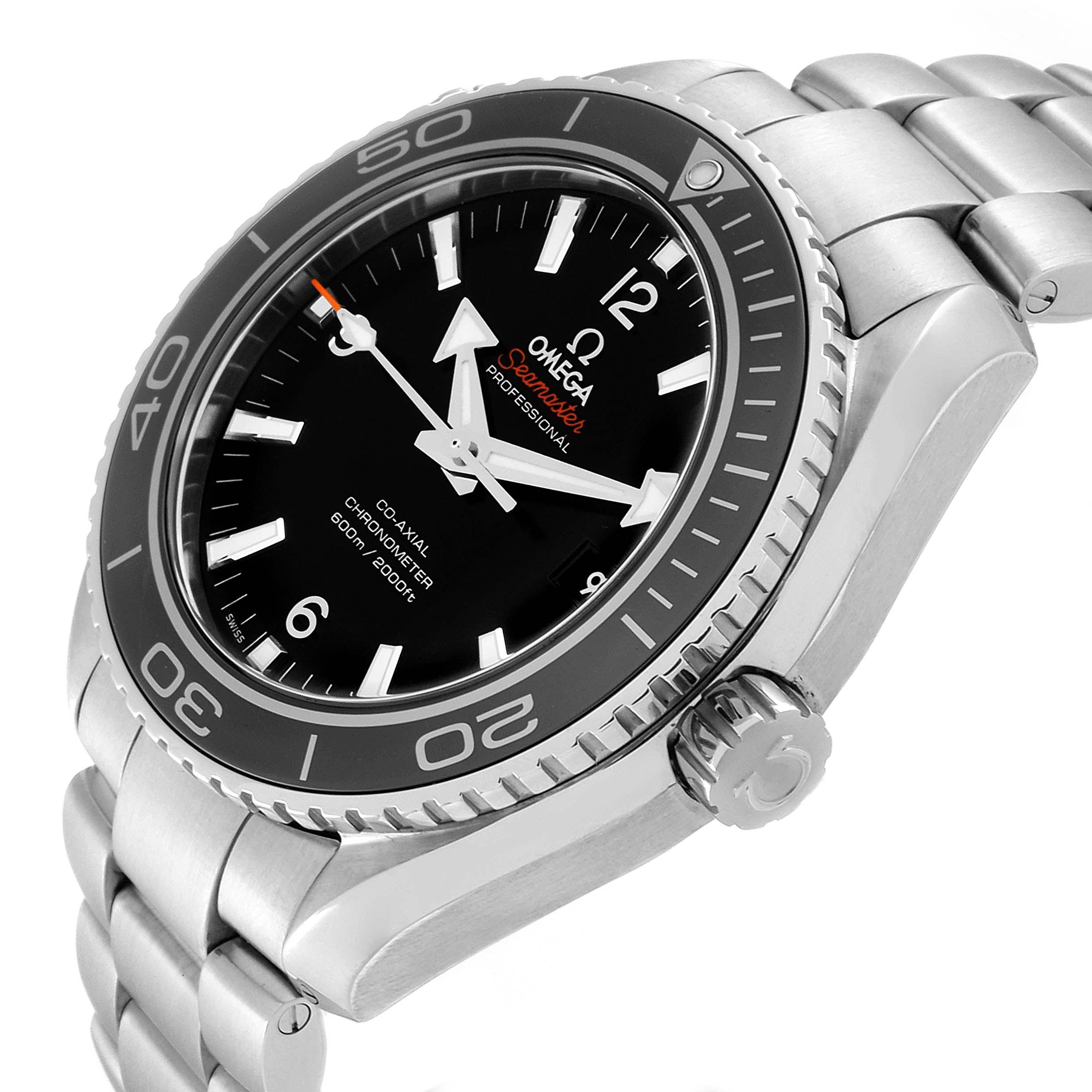 Omega Seamaster Planet Ocean 600M Mens Watch 232.30.46.21.01.001 SwissWatchExpo