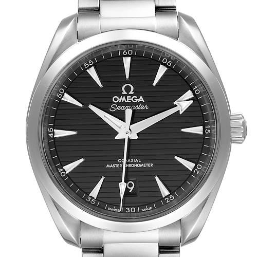 Photo of Omega Seamaster Aqua Terra Black Dial Watch 220.10.38.20.01.001 Unworn