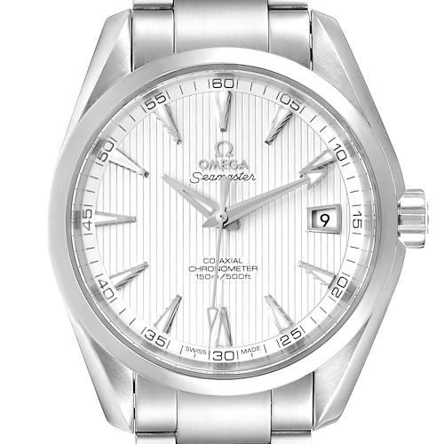 Photo of Omega Seamaster Aqua Terra Co-Axial Watch 231.10.42.21.02.001 Box Card