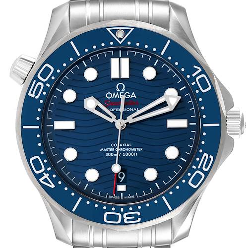 Photo of Omega Seamaster Co-Axial 42mm Mens Watch 210.30.42.20.03.001 Unworn