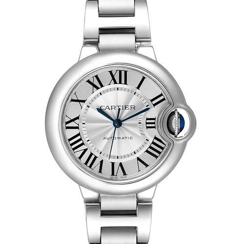 Photo of Cartier Ballon Bleu Stainless Steel Automatic Womens Watch W6920071