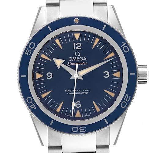 Photo of Omega Seamaster 300 Blue Dial Titanium Watch 233.90.41.21.03.001 Unworn