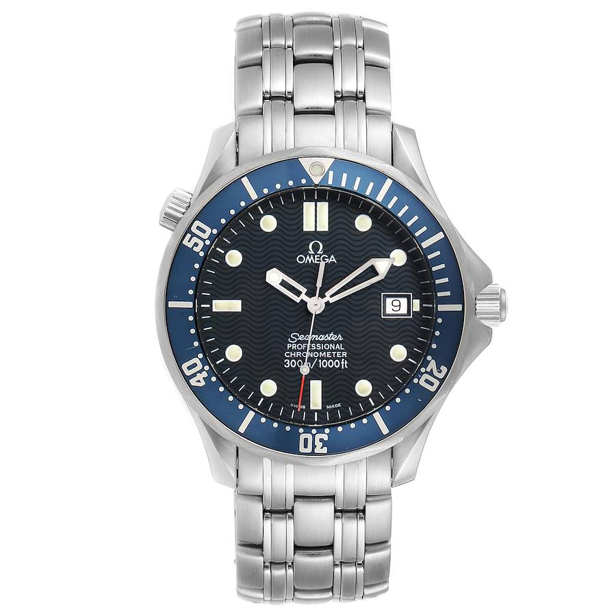Omega Seamaster 300M Stainless Steel Mens Watch 2531.80.00 SwissWatchExpo