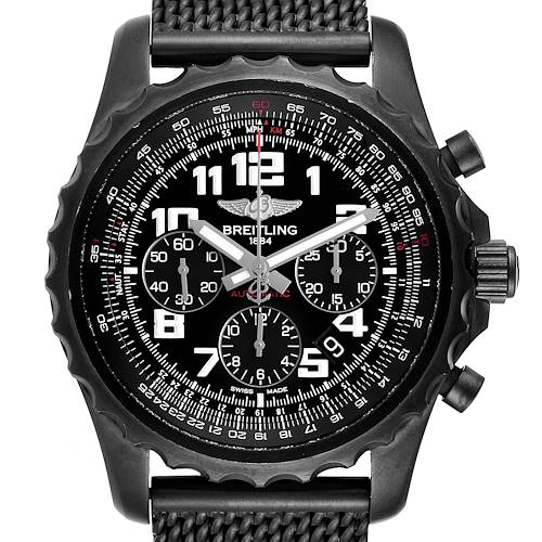 Photo of Breitling Chronospace Black PVD Limited Edition Watch M23360 Box Papers