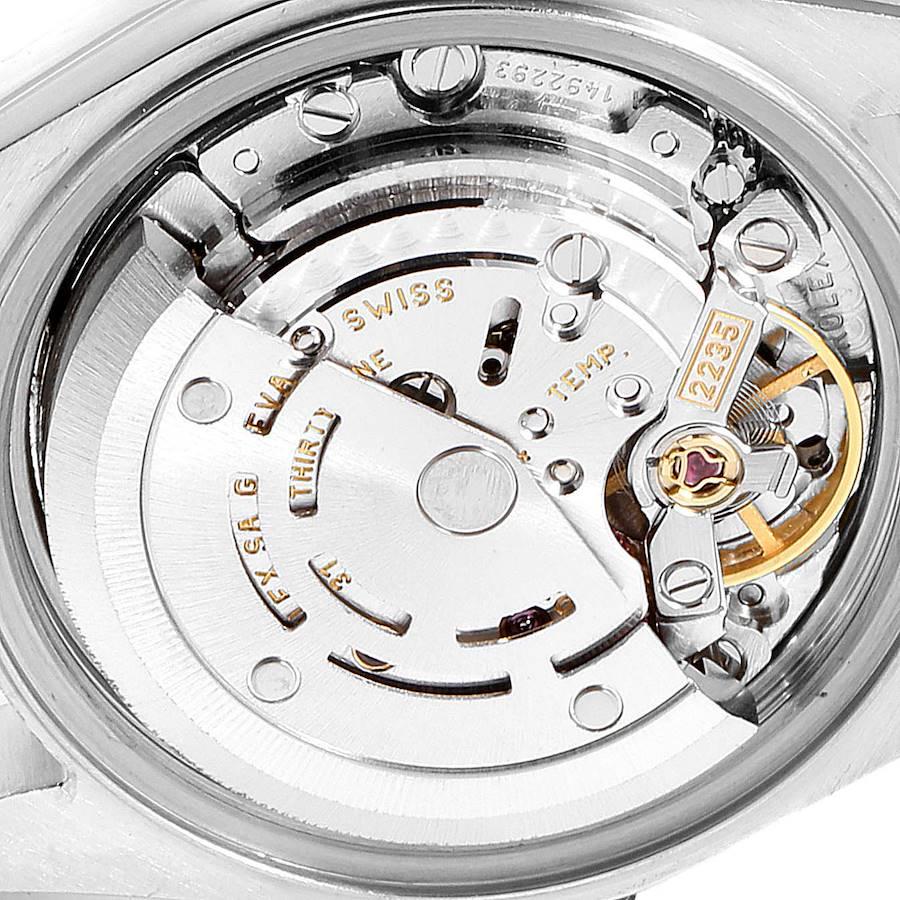 Rolex Datejust Steel Yellow Gold MOP Diamond Dial Ladies Watch 79173 SwissWatchExpo