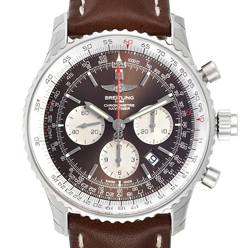 Photo of Breitling Navitimer Rattrapante Chronograph Mens Watch AB0310 Unworn