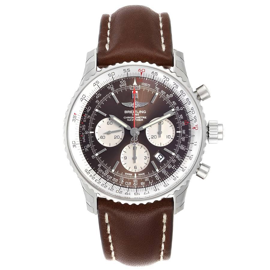 Breitling Navitimer Rattrapante Chronograph Mens Watch AB0310 Unworn SwissWatchExpo