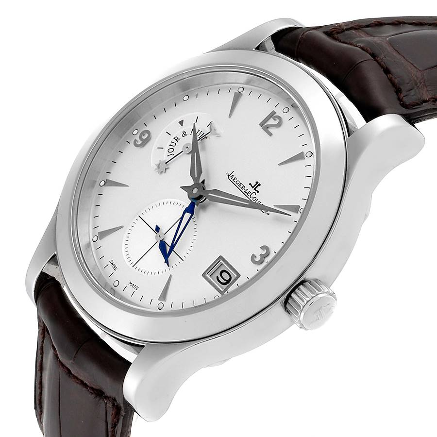 Jaeger Lecoultre Master Control Hometime Mens Watch 147.8.05.S Q1628420 SwissWatchExpo