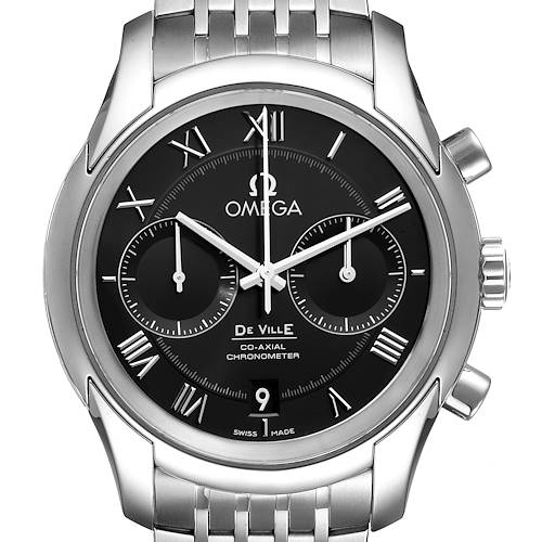 Photo of Omega DeVille Co-Axial Chronograph Mens Watch 431.10.42.51.01.001 Unworn